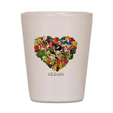 vegan-white Shot Glass