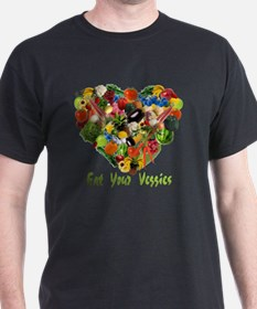 eat-your-veggies-white T-Shirt