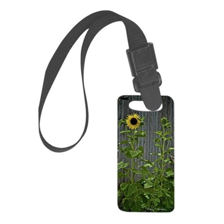 Sunflowers Small Luggage Tag