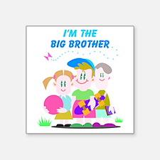 "big-brother Square Sticker 3"" x 3"""