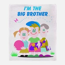 big-brother Throw Blanket