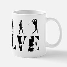 gold-white Mug