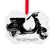 vespa-125-prima-black Ornament