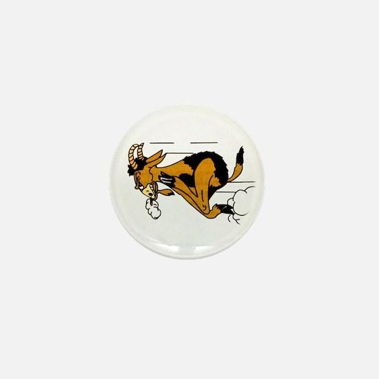 billy-goat Mini Button