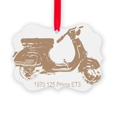 3-vespa-125-prima-tan Ornament