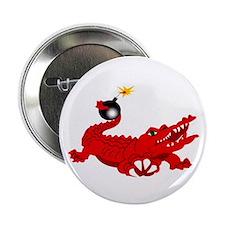 """aligator-white-1800 2.25"""" Button"""