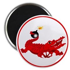 aligator-red-1800 Magnet