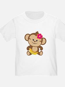 Girl Monkey T
