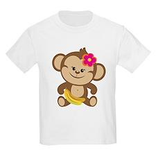 Girl Monkey T-Shirt