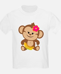 Girl Monkey T-Shirt
