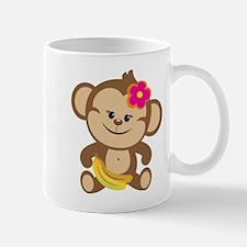Girl Monkey Mug