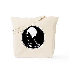 wolf-stencil Tote Bag