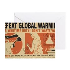 3f05374u-wastewater1 Greeting Card