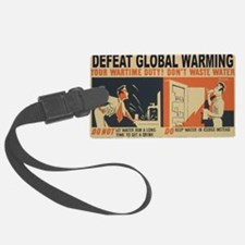 3f05376u-wastewater3 Luggage Tag