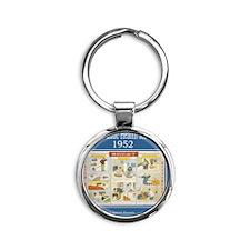 DSC_4024-lice Round Keychain