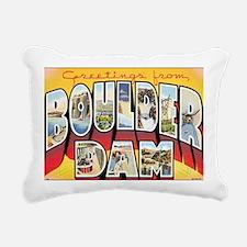 boulder-dam Rectangular Canvas Pillow