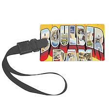 boulder-dam Luggage Tag