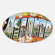 atlanta Sticker (Oval)
