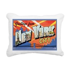 new-york Rectangular Canvas Pillow