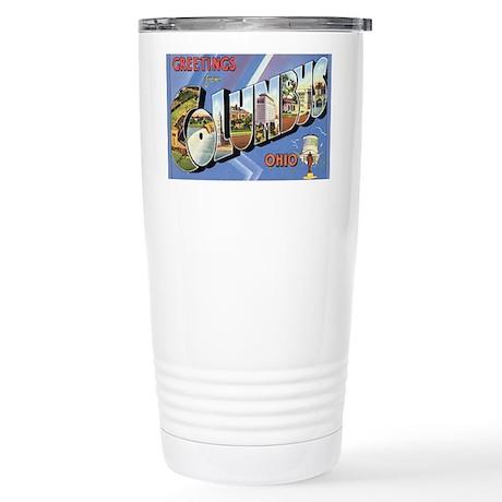 columbus Stainless Steel Travel Mug