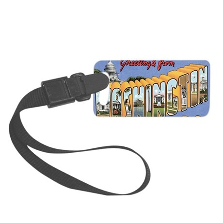 wash-dc Small Luggage Tag