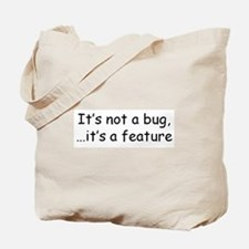 Funny Software bugs Tote Bag