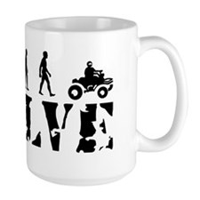 4wheeler-white Mug