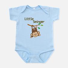 Boy Monkey Little Swinger Infant Bodysuit