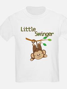 Boy Monkey Little Swinger T-Shirt