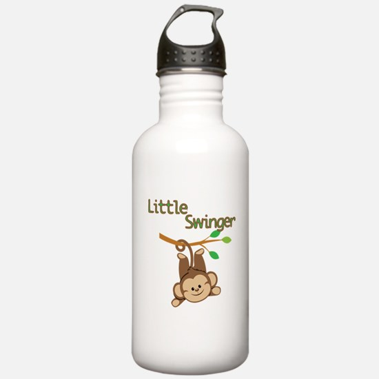Boy Monkey Little Swinger Water Bottle