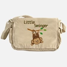 Boy Monkey Little Swinger Messenger Bag