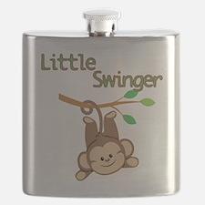 Boy Monkey Little Swinger Flask
