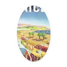 030 Oval Car Magnet