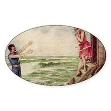 1910-bathing-machine Decal
