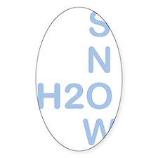 h2osnow Decal