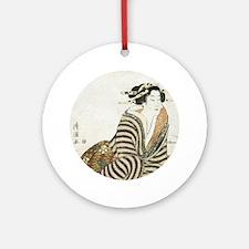 073-round Round Ornament