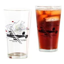 doolittle-raid-white Drinking Glass