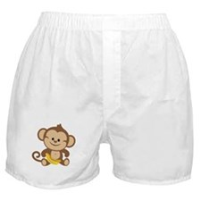 Boy Monkey Boxer Shorts
