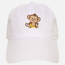 Boy Monkey Baseball Baseball Cap