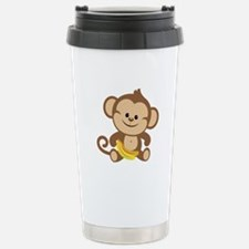 Boy Monkey Travel Mug