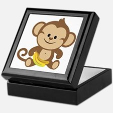 Boy Monkey Keepsake Box