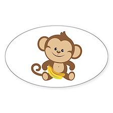 Boy Monkey Decal