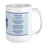 Air force master sergeant Large Mugs (15 oz)