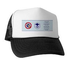 3-Master Sergeant-ver2 Trucker Hat