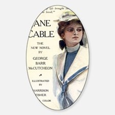 jane-cable-ad-postcard Decal