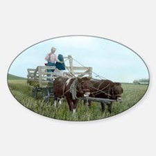horse-wagon Decal