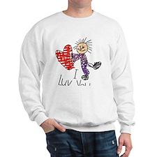 child-boy-luv-clear Sweatshirt