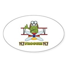 Fly Froggie Fly Decal