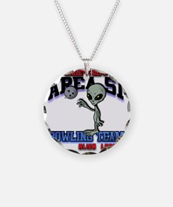 area51-bowling-tean-2-clear Necklace Circle Charm