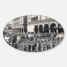 motcclubpost Sticker (Oval)
